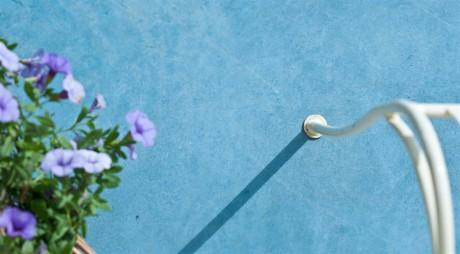 בטון מוחלק כחול